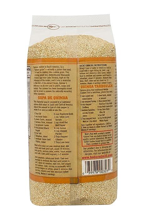 Bobs Red Mill Gluten Free Organic Quinoa Grain 737 g ...