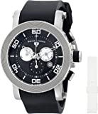 Swiss Legend Men's 30465-01-WA Cyclone Analog Display Swiss Quartz Black Watch