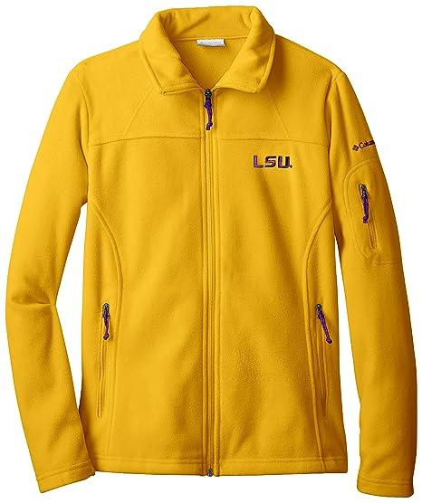 f736f5ffb NCAA LSU Tigers Give and Go Full Zip Fleece Jacket