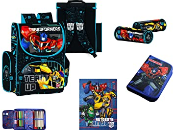 Transformers Schultüte Schulranzen Rucksack Federmappe Sportbeutel 4-teilig  SET