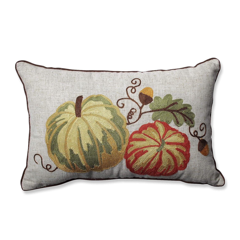 Pillow Perfect Gourdy Harvest Rectangular Throw Pillow Inc. 600147
