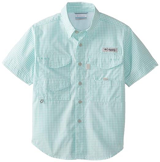 b8efb11c69e Amazon.com : Columbia Sportswear Boy's Super Bonehead Short Sleeve Shirt  (Youth) : Clothing