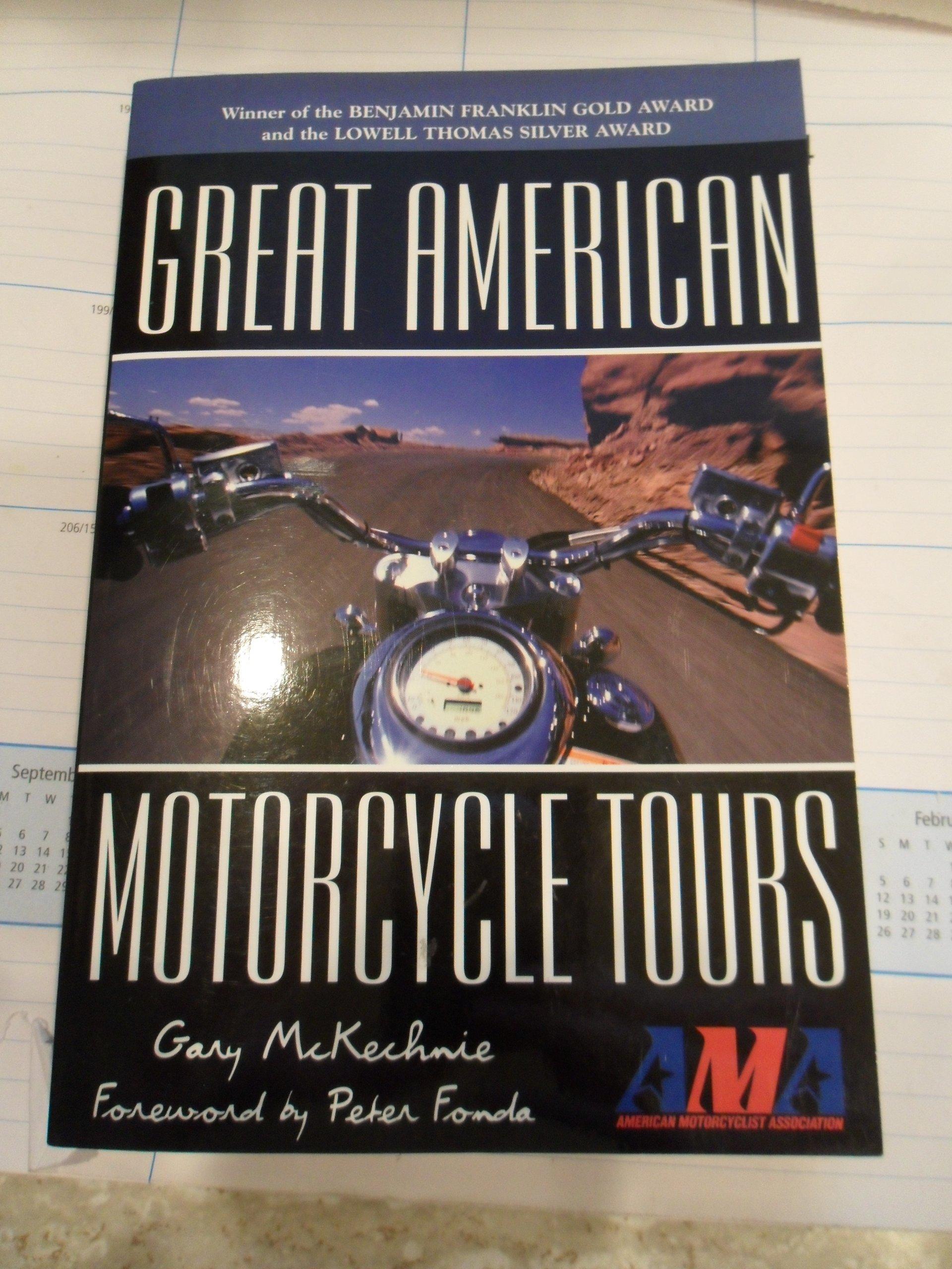 Great American Motorcycle Tours pdf epub