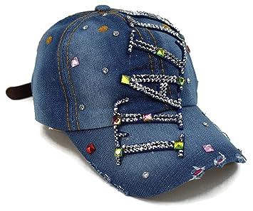 High End sombreros  quot colección Bling Sombrero Deportes Rhinestone  ajustable Gorra de béisbol c7174eb5649