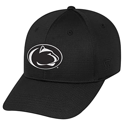 sports shoes aff1d 8e4f6 Top of the World Penn State Nittany Lions Official NCAA One Fit Parallax Hat  089201