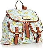 SWANKYSWANS Girls Bella Bird Print Rucksack Bag GR Backpack