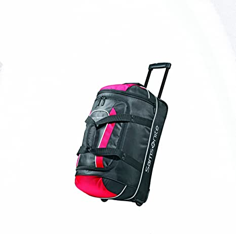 da36f0f6e Samsonite Luggage Andante Wheeled Duffel, Black/Red, 22 Inch: Amazon.ca:  Luggage & Bags