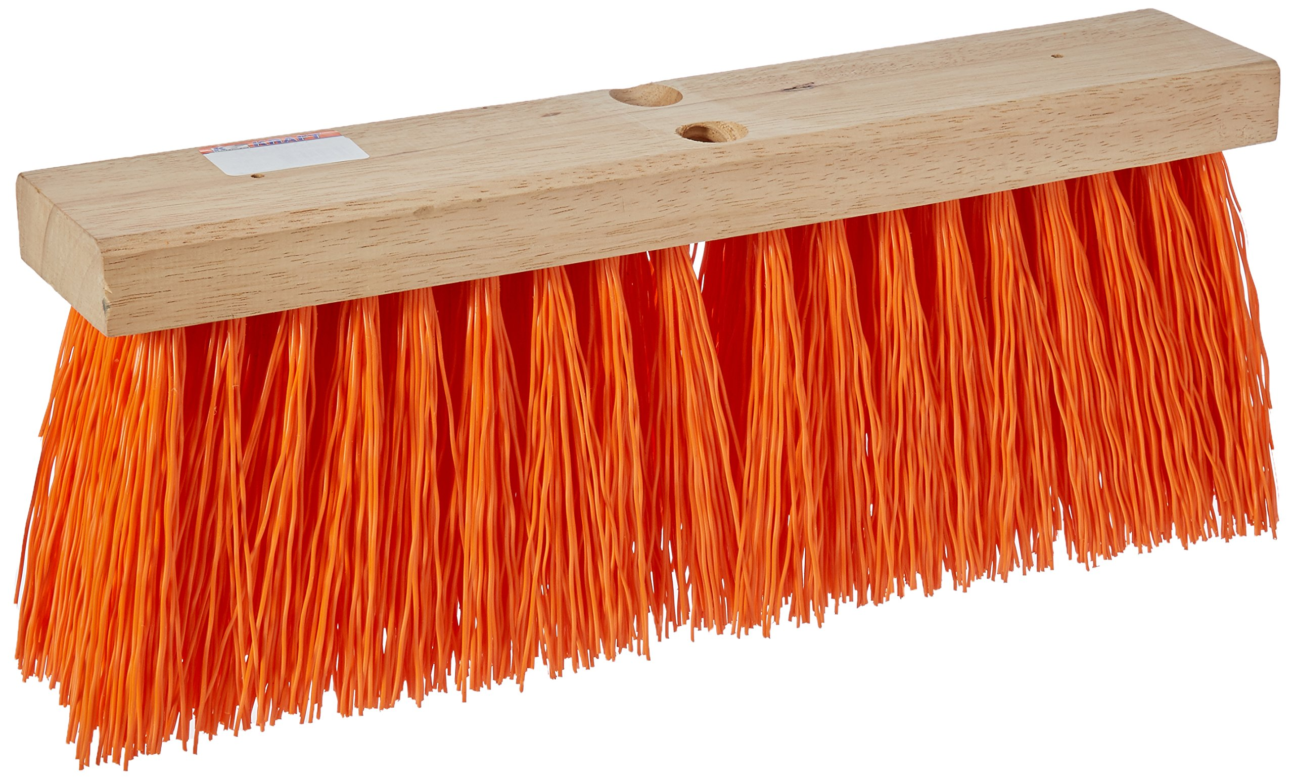 Kraft Tool CC195-01 18-Inch Heavy-Duty Sweeping Broom without Handle by Kraft Tool
