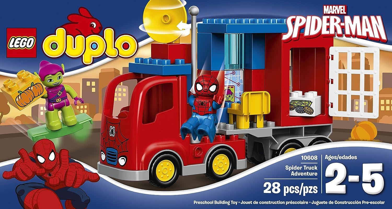 LEGO DUPLO Super Heroes 10608 - L'avventura del Camion-Ragno di SpiderMan al miglior prezzo