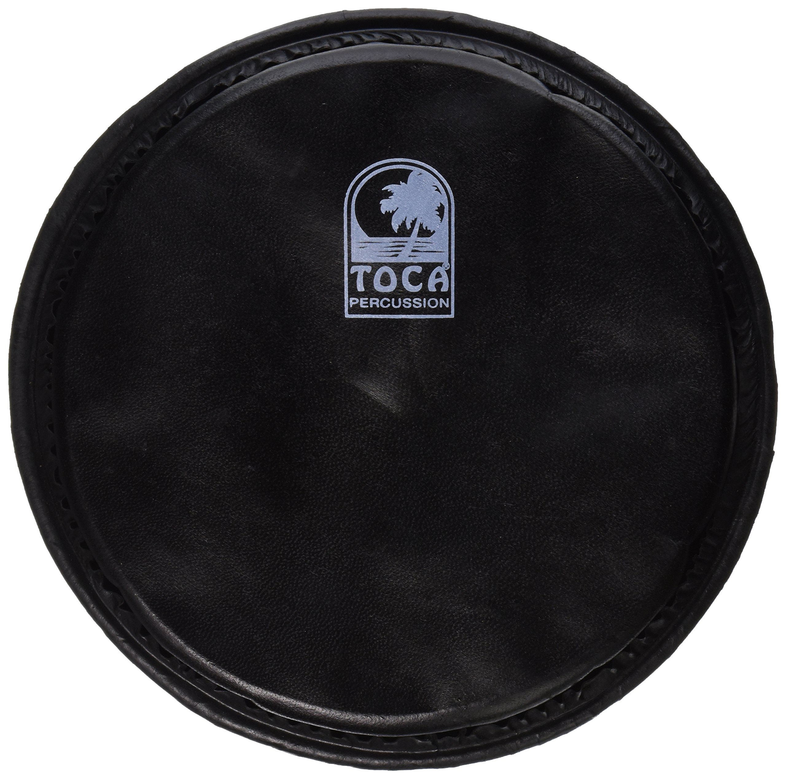 Toca TP-FHMB9 9-Inch Goat Skin Black Goat Skin Head for Mechanically Tuned Djembe