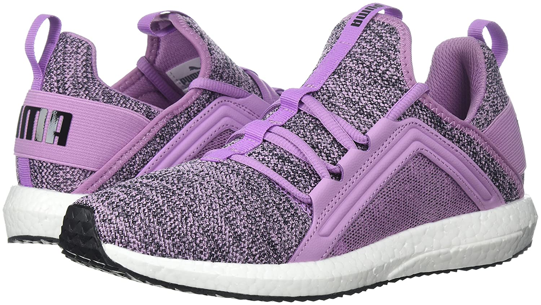 PUMA Women's Mega B0721N94F1 Nrgy Knit Wn Sneaker B0721N94F1 Mega 10 B(M) US Smoky Grape-puma Black 8c5184