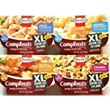 Variety Pack of 4 Hormel Compleats XL Serving Size 30% More