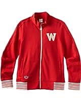 NCAA Wisconsin Badgers Women's Originals Fleece Track Jacket