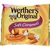 WERTHER'S ORIGINAL Soft Caramels, Individually Wrapped Candy, 8.10 Ounce Bag