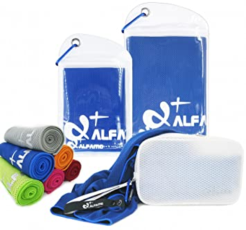 Alfamo Cooling Towels for Hikers