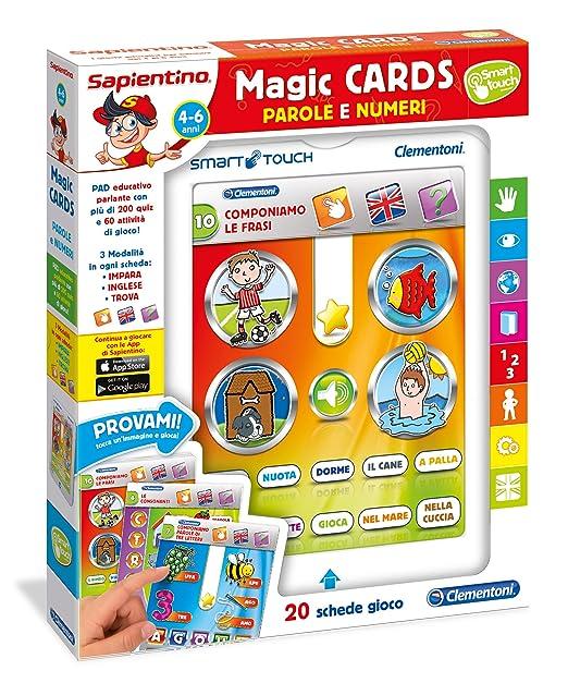 15 opinioni per Clementoni 13261- Sapientino Magic Cards Lettere e Numeri, 4-6 Anni