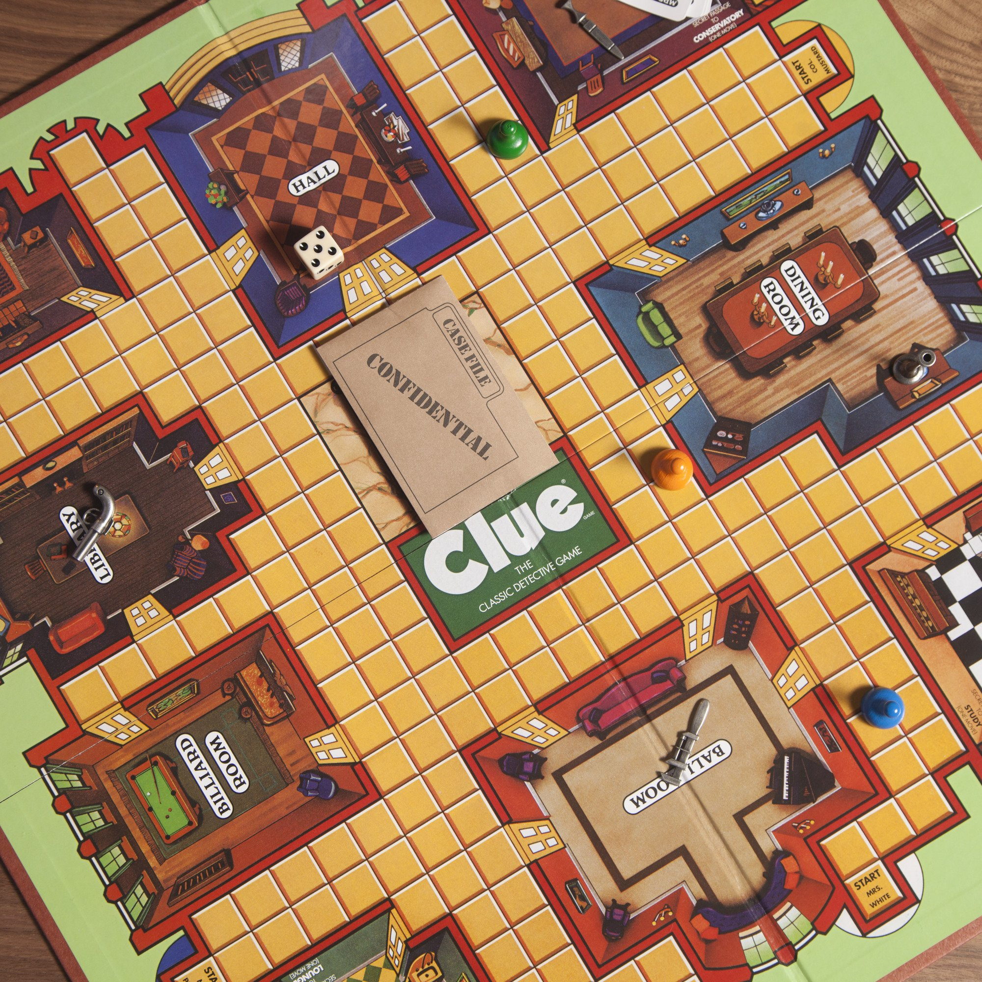 Retro Series Clue 1986 Edition Game by Hasbro (Image #12)