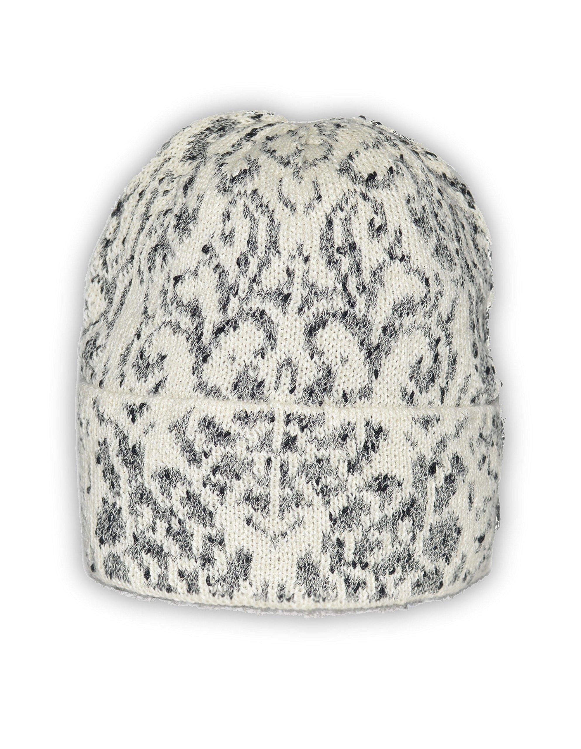 Invisible World Women's 100% Alpaca Wool Hat Knit Unisex Beanie Winter Oxa Md