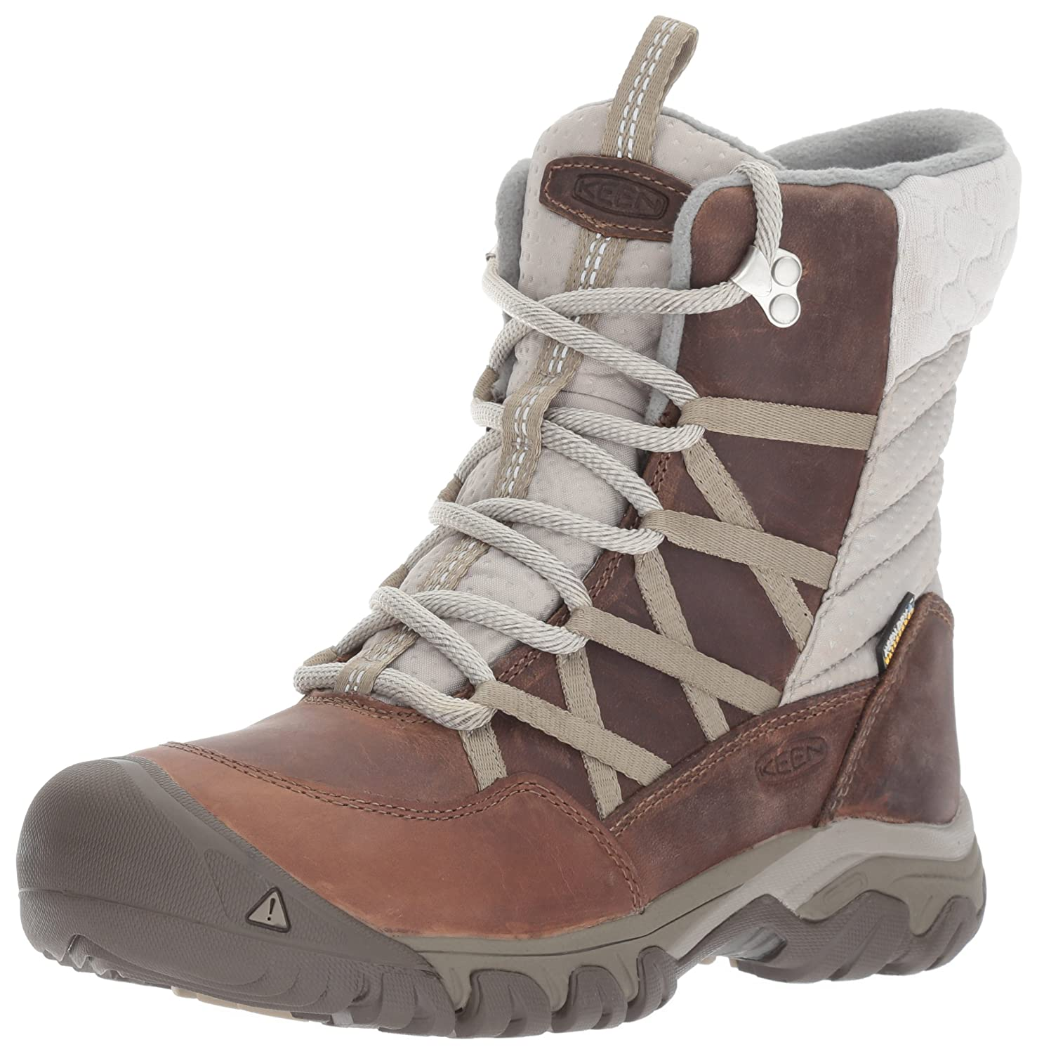 KEEN Women's Hoodoo III Lace up-w Snow Boot B01N95MDVF 10.5 B(M) US|Coconut/Plaza Taupe