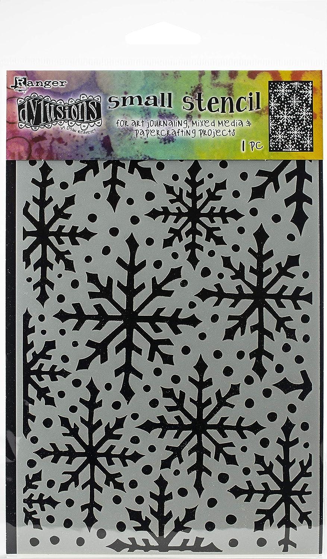 Ranger DYS-63681 Dyan Reaveleys Dylusions Stencils 5X8-Snowflake,