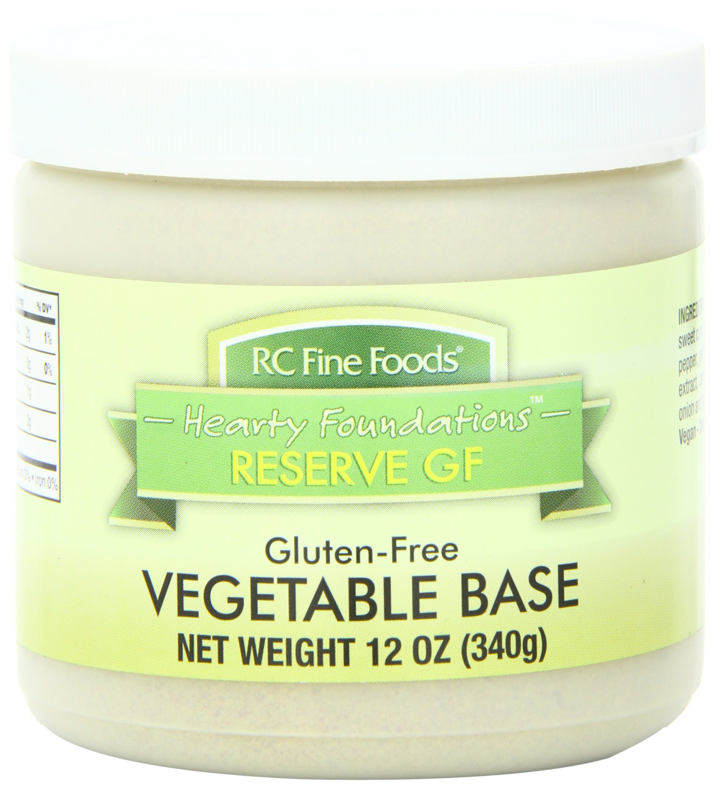 RC Fine Foods Hearty Foundations Reserve Gluten Free Soup Base, Vegetable, 12 Ounce