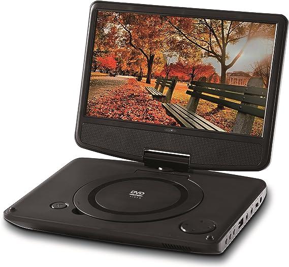 Reflexion Dvd9003n Portabler Dvd Player 22 86 Cm 9 Zoll Schwarz Heimkino Tv Video