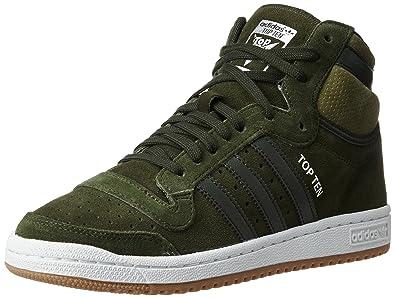 sale retailer 57d68 24e1a adidas Originals Men s Top Ten Hi Ngtcar and Olicar Leather Basketball Shoes  - 12 UK