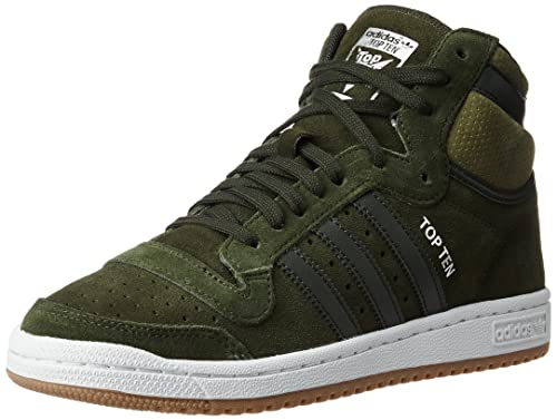 e88ada3a30c adidas Originals Men s Top Ten Hi Ngtcar and Olicar Leather Basketball Shoes  - 12 UK India (47 1 3 EU)  Buy Online at Low Prices in India - Amazon.in