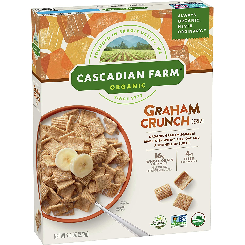 Cascadian Farm Organic Graham Crunch Cereal 9.6 oz