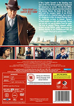 Amazon com: A Very English Scandal - Season 1 [DVD] [2018] [Region2