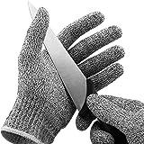 Luva Protetora Anti Corte para Cozinha Tecido e Fibra de Vidro - YP1911 - Yanzgi
