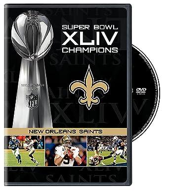 118a9986 Amazon.com: NFL Super Bowl Xliv Champs: Saints & Best Games 09: NFL ...