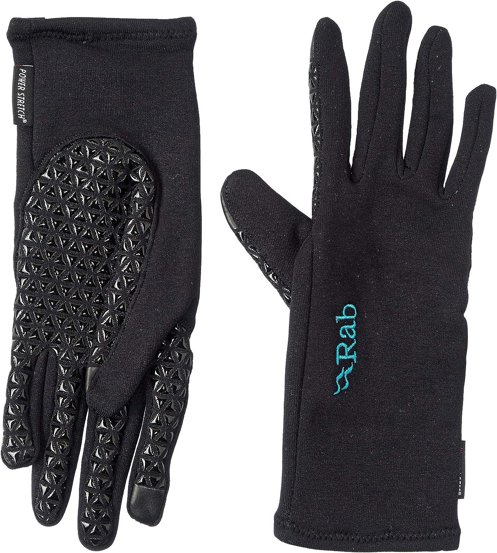 Rab Power Stretch Contact Grip Gloves Women black 2020 sport gloves
