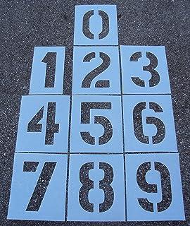 Amazon.: Parking Lot Stencils   12 inch Letter Set : Paper