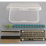 Alchemy Power Inc. PiZ-EzConnect KIT. Build your own GPIO connector for a Pi-Zero, Pi Zero W, Pi 3, Pi 2 or any other Pi / Pi-clone (e.g. Asus Tinker, PiOrange etc.). Soldering required