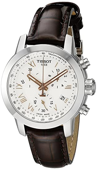 Tissot Women s T0552171603302 PRC 200 Analog Display Swiss Quartz Brown  Watch  Tissot  Amazon.ca  Watches 06160fca25