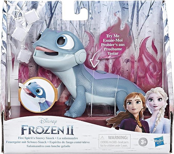 Peluche Bruni La Reines des Neiges 2 Disney Lezard Salamandre 14x25cm