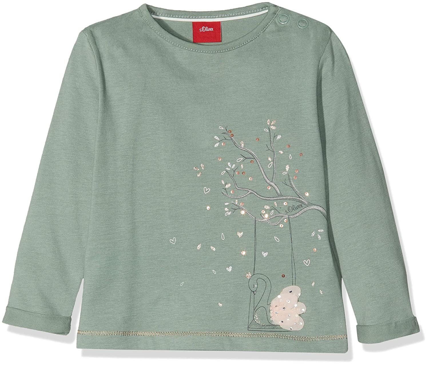 s.Oliver Baby Girls' Longsleeve T - Shirt s.Oliver Junior 65.810.31.8366