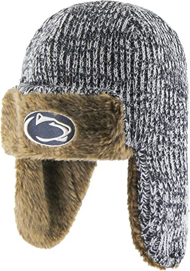 NCAA Mens Penn State Nittany Lions OTS Thorsby Beanie Knit Cap One Size Team Color