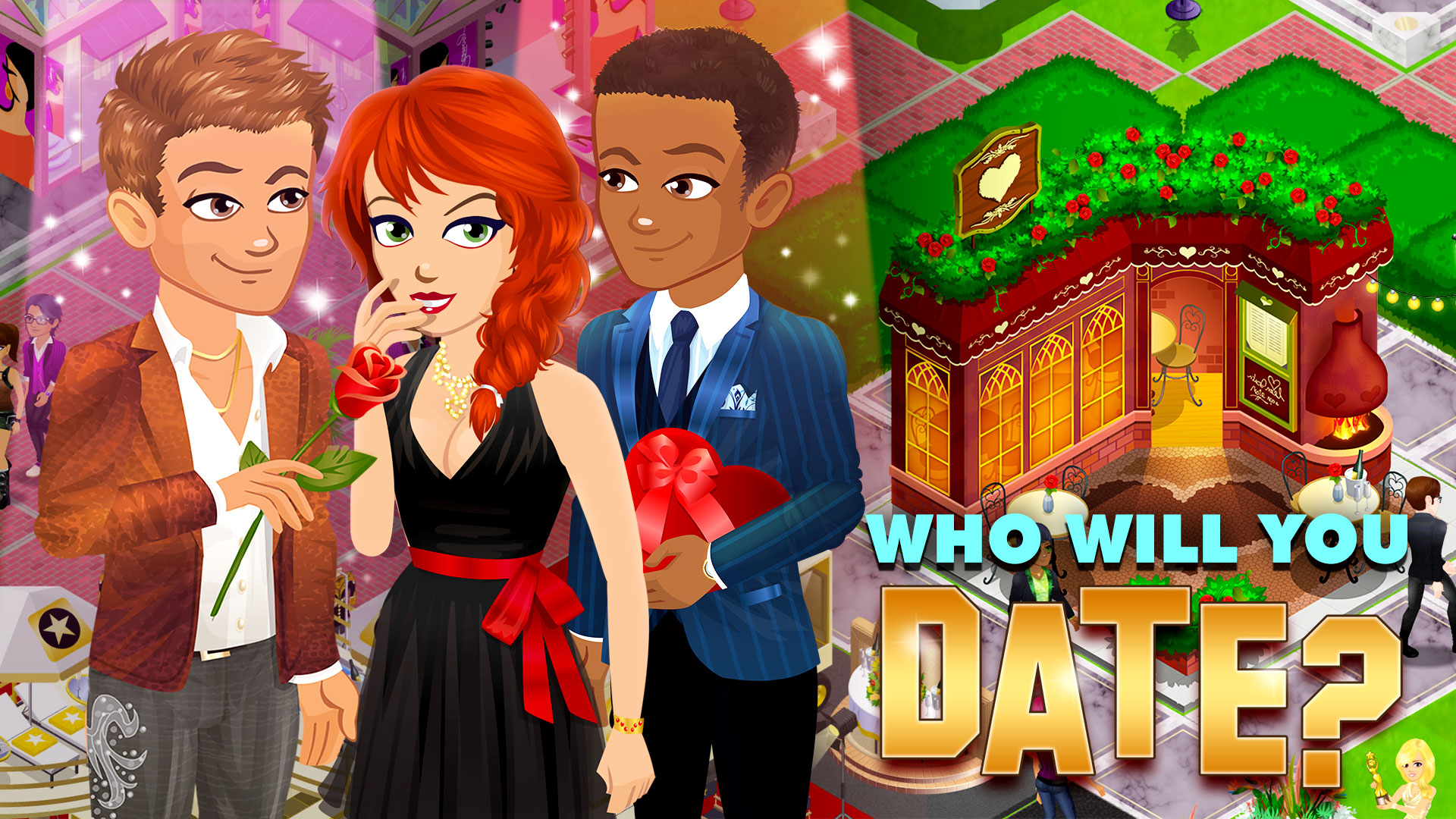 How do you unlock dating in hollywood u