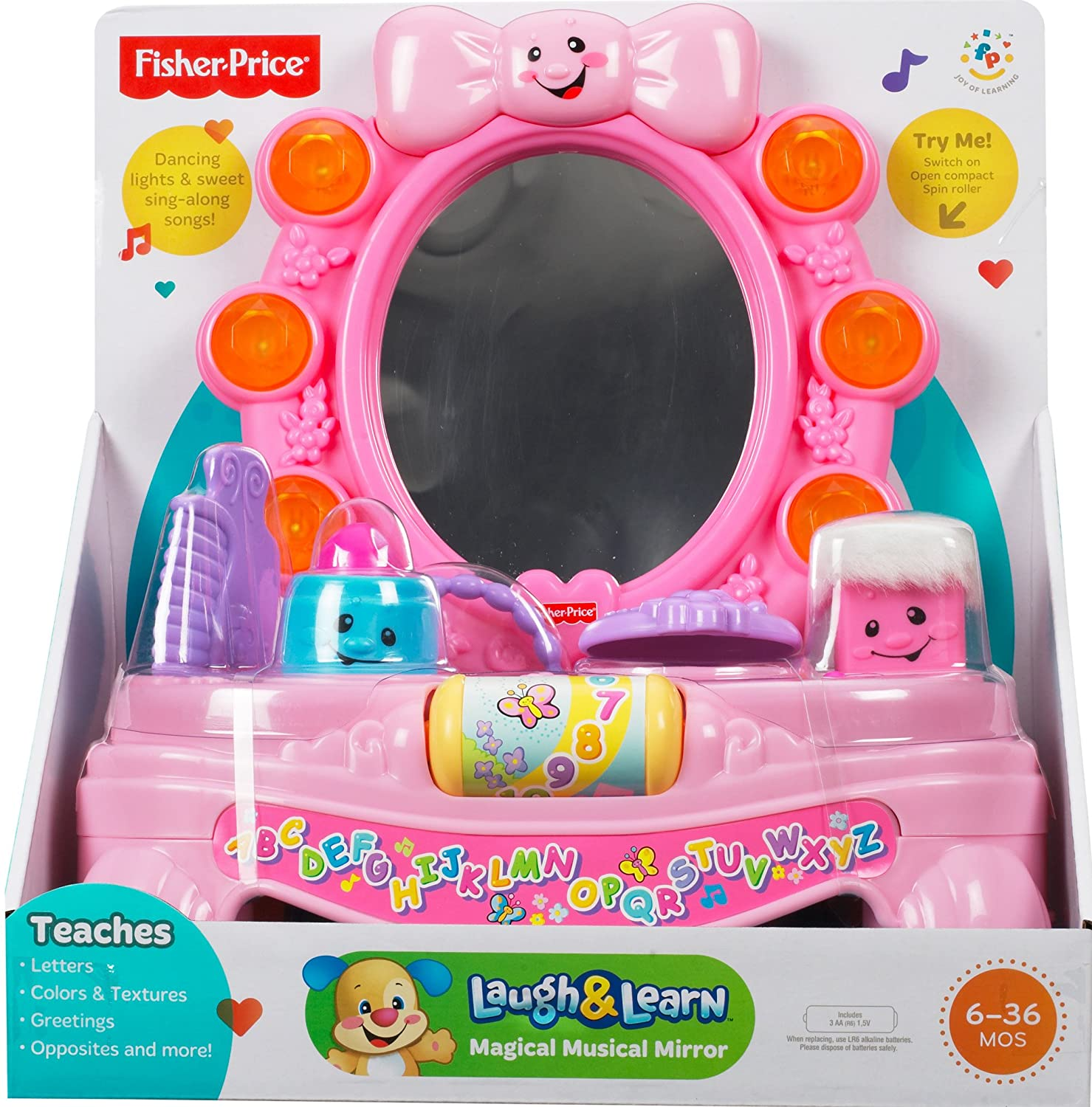Buy Fisher Price Laugh and Learn Magical Musical Mirror line at