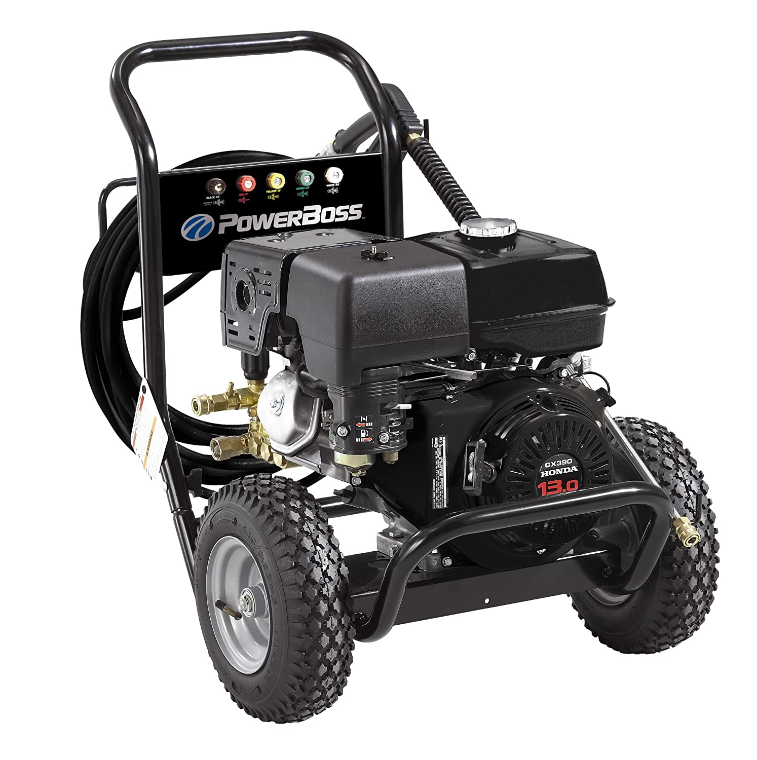 91p9tEXaliL._SL1500_ amazon com powerboss 20454 3800 psi 4 0 gpm honda gx390 389cc  at n-0.co