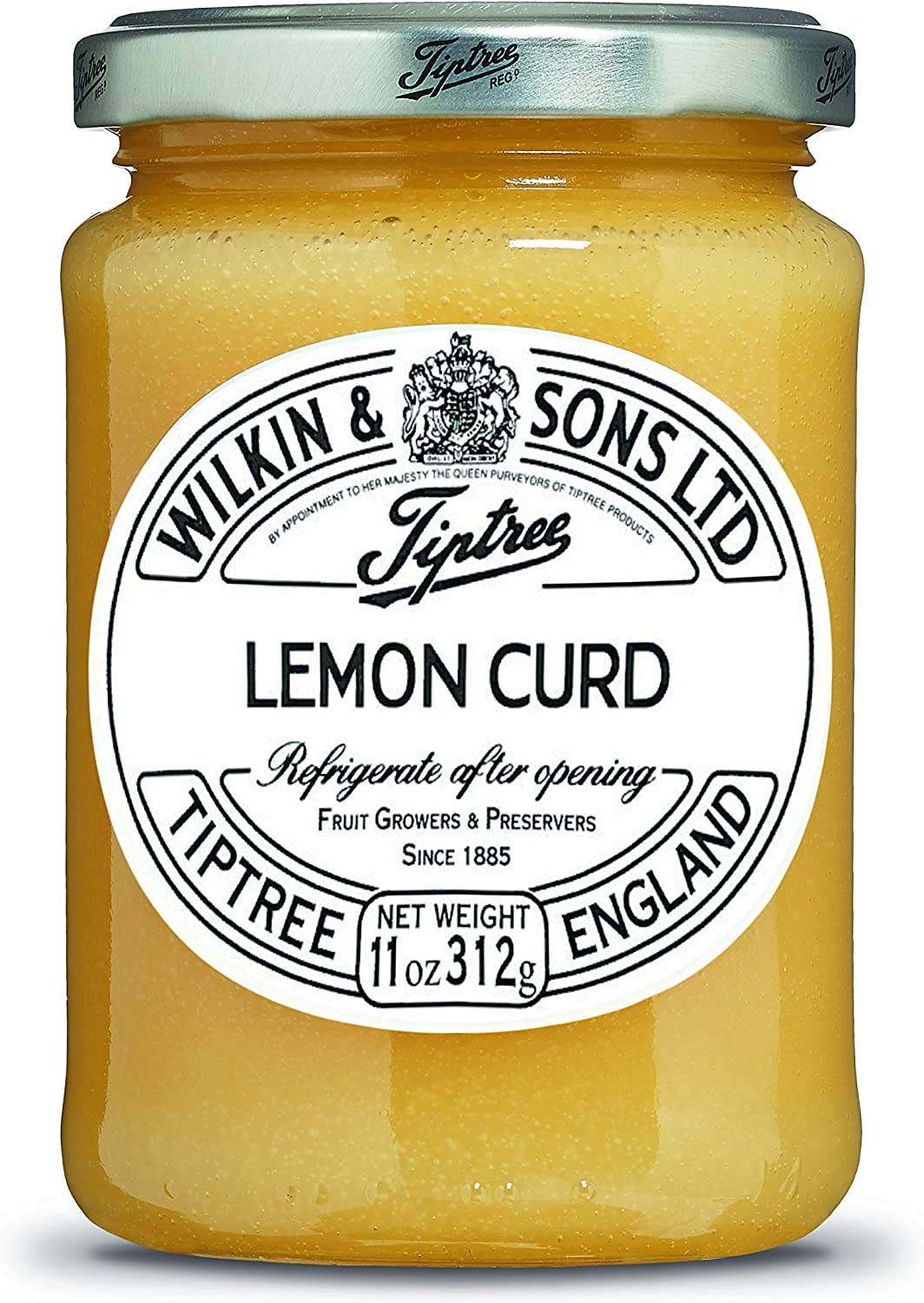 Tiptree Lemon Curd, 11 Ounce Jar (312g)