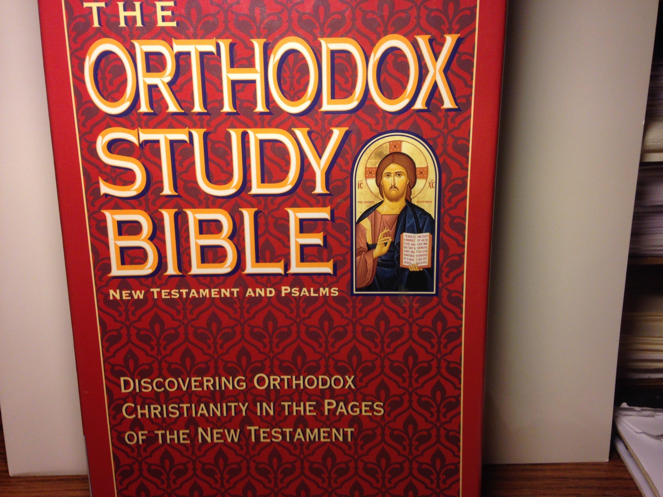Bible New King James Version Orthodox Study New Testament