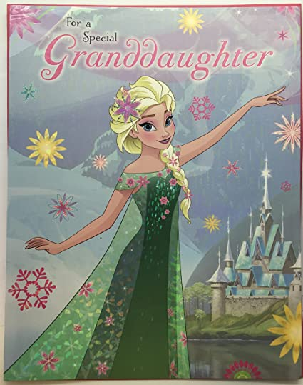 Image Unavailable Not Available For Color Disney Frozen Large Birthday Greeting Card