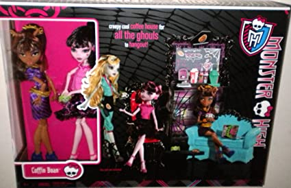 Amazon.es: Monster High Exclusive Clawdeen Wolf and Draculaura ...
