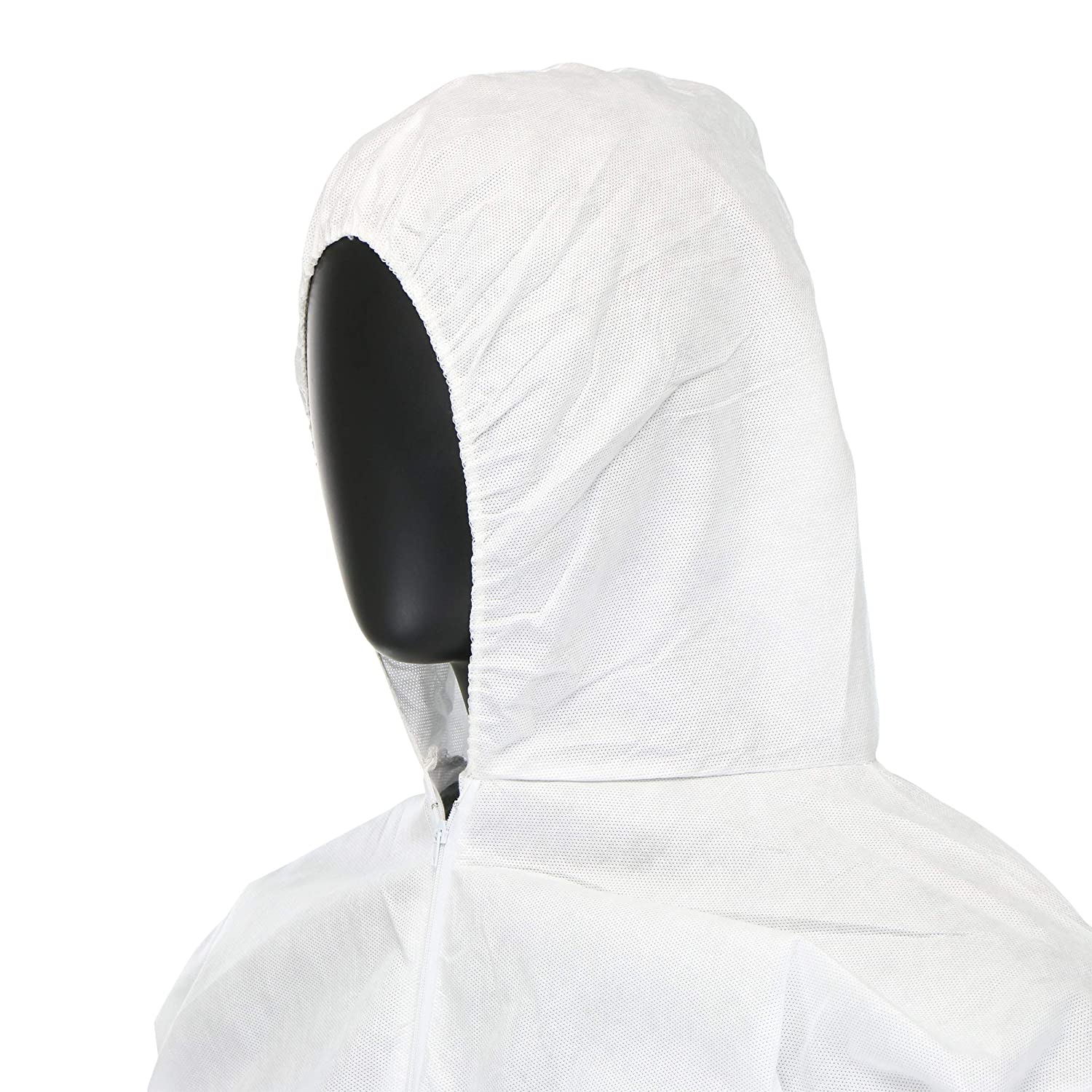 2XL West Chester C3806 2XL PosiM3 Coverall Hood El Wrist and Ankle Pack of 25 White