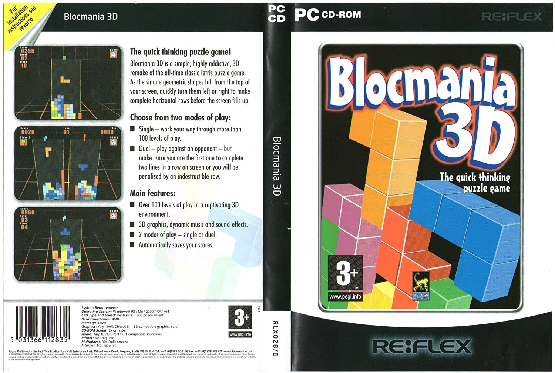 Blockmania 3D (輸入版) B002OYY4IE