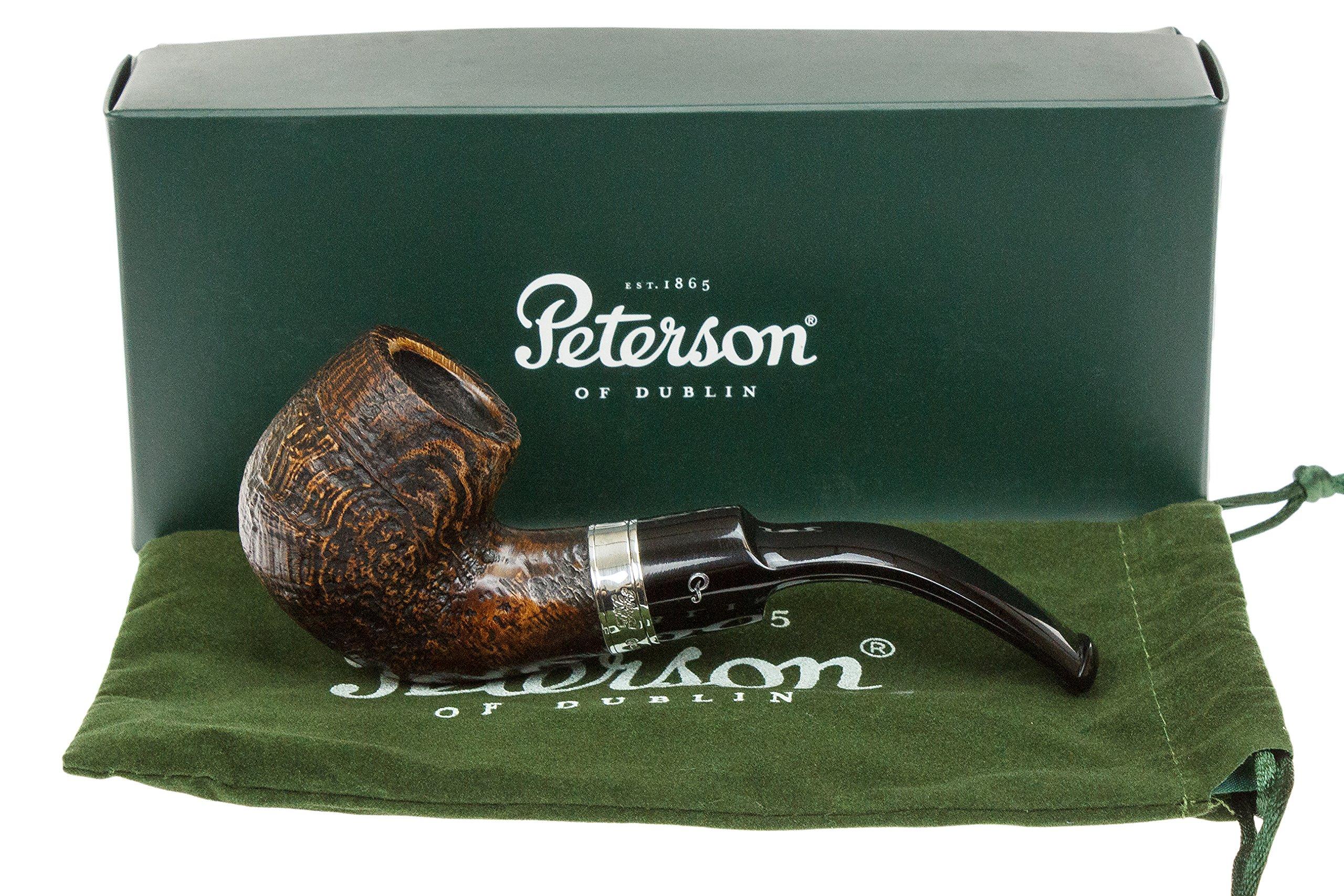Peterson Dublin Castle 221 Tobacco Pipe by Peterson