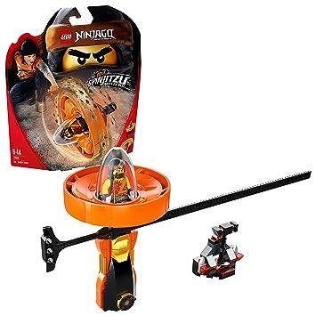 LEGO- Ninjago Cole: Maestro del Spinjitzu, Color naranja (70637)